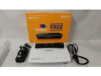 Humax HDR-1100S Smart 1TB Freesat+ with Freetime HD Digital TV Recorder, White