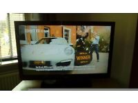 39inch black technica lcd tv.