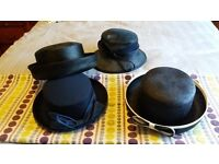 Vintage ladies hats in mint condition !