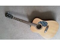 GUITAR ENCORE STEEL STRUNG ACOUSTIC W255 IN GOOD CONDITION