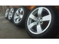 "Bmw 17"" alloy wheels e60 e46"