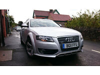 Audi A4 Allroad Quattro 3.0 V6 TDI 240PS 2011 Silver - High Spec and Excellent Condition
