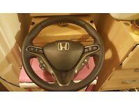 Honda civic type r fn2 2007 to 2012 full steering wheel