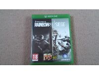 Tom Clancy's Rainbow Six Siege Xbox ONE Game Immaculate Condition