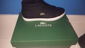 *Brand New with tags& Box**Lacoste Chukka Boot Trainers