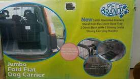 Jumbo dog cage/carrier/crate