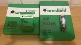 Toyota Auris Service Parts - Crosland Filters