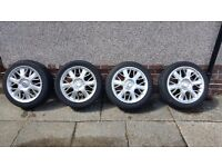 """Rover 75 17"""" Serpent Alloys and tyres"""