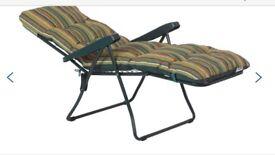Brand New Sealed Garden Chair / Sun Lounger recliner