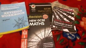 Maths GCSE revision guides used