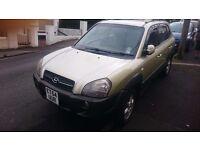 2005 hyundai tucsun 2.0 diesel car 4x4