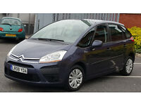 5 SEATER DIESEL Citroen-C4-Picasso-SX-1-6 HDI -2008- AUTOMATIC