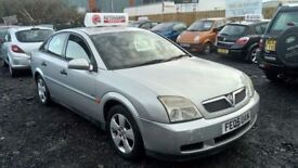 2005 05 VAUXHALL VECTRA 2.0 DTI TAX AND MOT MARCH 2018 GOOD MILEAGE £495