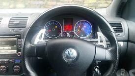 Volkswagen Golf mk5 GTi 2.0 Turbo, 64k, DSG F1 paddle shifting
