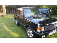 Land Rover, Range Rover, Classic, Beluga Black, 300tdi professionally fitted