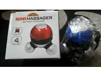 Hand held mini massager (new)
