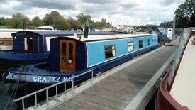 Liverpool 58ft Narrow Boat