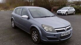 Vauxhall astra 2004 1.8 petrol 1 years MOT