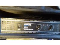 Warrior Definitive Audio DA1000 series power amp