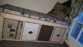 Shabby Chic hall/Muck Room bench