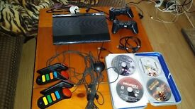 PlayStation 3 - controllers plus 40 games