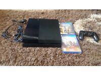 Ps4 with 4 games and 1 pad 500gb £185