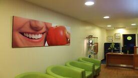 Full Time Dental Nurse/Receptionist Required for Dynamic Dental Team!