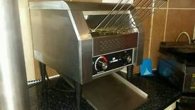 Hardly used Chefmaster Conveyor Slices Toaster