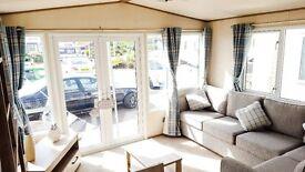 2 Bedroom 2017 Static Caravan for Sale at Camber Sands, Seafront Park, Pet friendly, 12 moths,