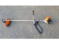 Cheap Professional Stihl strimmer 4 stroke,hardly used like new. Not need oil for petrol