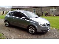 2007 Vauxhall Corsa 1.2 SXI . Only 58k miles with FSH and 12 Months MOT