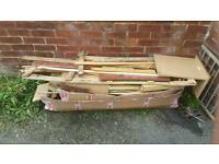 Free wood to pick up