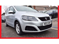 7 Seater -- 2012 SEAT Alhambra 2.0 TDi CR Automatic --58000 Miles --alternate4