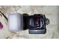 Nikon Speedlight SB-800 Shoe Mount Flashgun with Falcon Eyes Flash Bounce/Difuser,