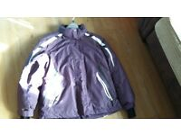 ladies Ski/outdoor coat. size 14/16