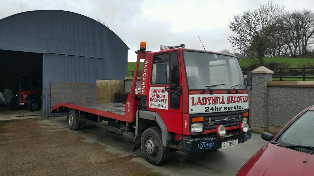 ford cargo 0813 breakdown recovery lorry in antrim. Black Bedroom Furniture Sets. Home Design Ideas
