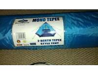 2 berth tepee style tent