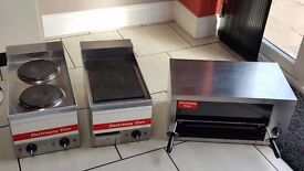 Catering equipment used, Grill/Double Hob/Hot plate