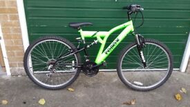Reflex Mountain Bike - Adult/Teenager - Excellent condition