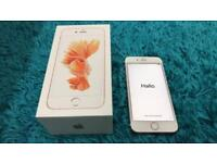Apple IPhone 6s Rose Gold, UNLOCKED, LIKE NEW