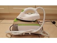 Hotpoint Steam Generator Iron Soleplate Tehnology - White