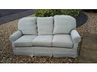 3 seater settee/sofa as NEW..!