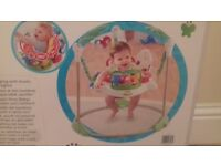 New Boxed Fisher Price Rainforest Jumperoo
