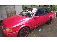 Ford escort mk 4 Xr3i cabriolet