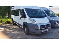 2009/09 Fiat Ducato LWB 14 Seater Minibus,COIF, Ideal camper conversion, very nice bus