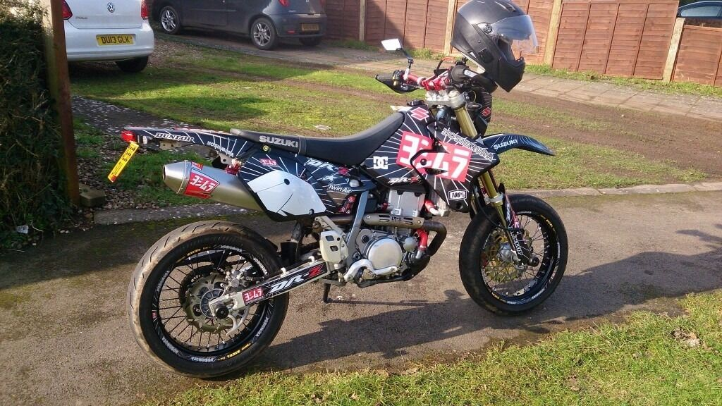 suzuki drz 400 supermoto free delivery in leamington spa warwickshire gumtree. Black Bedroom Furniture Sets. Home Design Ideas