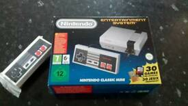 Nintendo NES mini console with in built games
