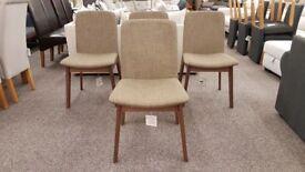 4 Julian Bowen Kensington Dining Chairs
