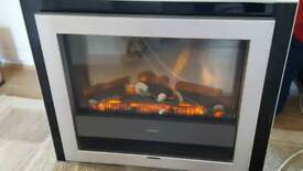 Electric fire / wall mounted heater. Dimplex 2kw.