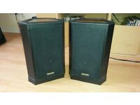 vintage Tannoy speakers. Great sound